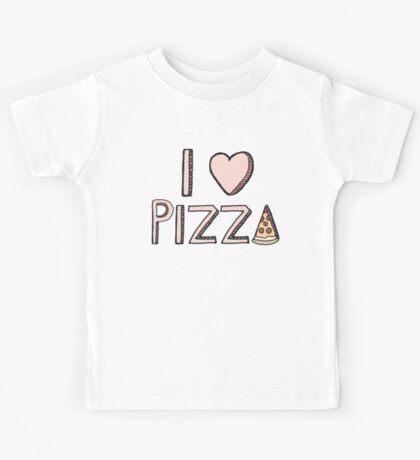 I Love Pizza Kids Tee
