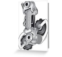 Campagnolo Nuovo Record Rear Derailleur, 1974 Greeting Card