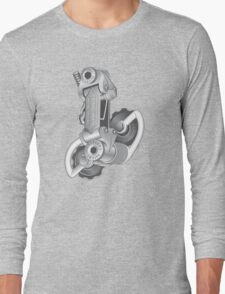 Campagnolo Nuovo Record Rear Derailleur, 1974 Long Sleeve T-Shirt