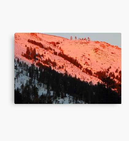 Ralston Peak Canvas Print