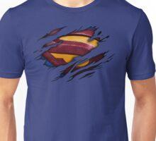 Superman Ripped Shirt Unisex T-Shirt