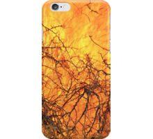 Yellow Flames - Wild Bush Fire iPhone Case/Skin