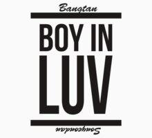 BTS (Bangtan) - Boy In Luv Text (KPOP) T-Shirt