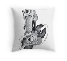 Campagnolo Nuovo Record Rear Derailleur, 1974 Throw Pillow