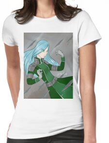 Metal Bender Katelyn Womens Fitted T-Shirt