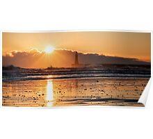 Sunrise At Roker Poster