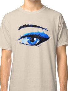Abstract woman eye Classic T-Shirt