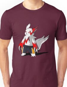 Zangoose in Haikyuu shorts Unisex T-Shirt