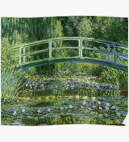 Monet Tote Bag Poster