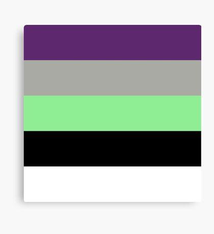 Buzz Color Pallet Canvas Print