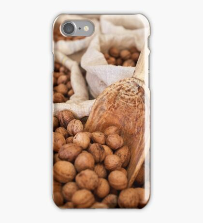 Sacks of walnuts iPhone Case/Skin