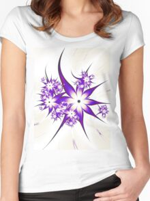 Purple Passion Women's Fitted Scoop T-Shirt