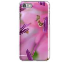 Purple Pollen Macro iPhone Case/Skin