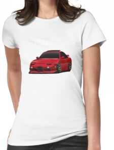 180sx type x with te37 wheels Womens Fitted T-Shirt