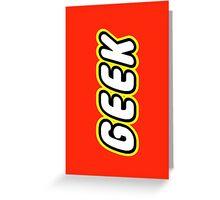 GEEK Greeting Card