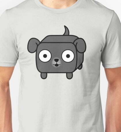 Pit Bull Loaf - Blue Pitbull with Floppy Ears Unisex T-Shirt