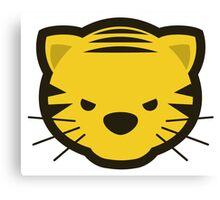 Kawaii Angry Tiger - Méchant Tigre Kawaii Canvas Print