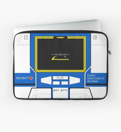 Soundwave's G1 altmode Laptop Sleeve