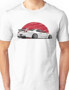 Nissan Skyline Gtr Rising sun Unisex T-Shirt
