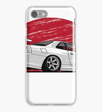 Nissan Skyline Gtr Rising sun iPhone Case/Skin