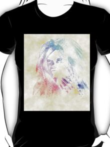 Fashion watercolor girl T-Shirt