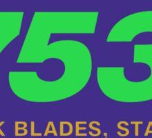 Reynolds 753, Enhanced Sticker