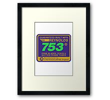 Reynolds 753, Enhanced Framed Print