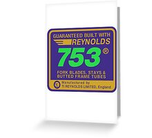 Reynolds 753, Enhanced Greeting Card