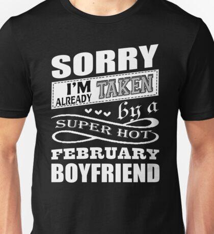 Super Hot February Boyfriend T Shirt Unisex T-Shirt