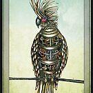 Steampunk cockatoo  by Jenny Wood