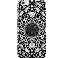 Indigo Home Medallion - White iPhone Case/Skin
