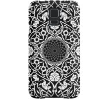 Indigo Home Medallion - White Samsung Galaxy Case/Skin