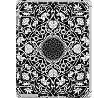 Indigo Home Medallion - White iPad Case/Skin