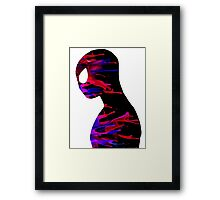 the amazing spiderman color Framed Print