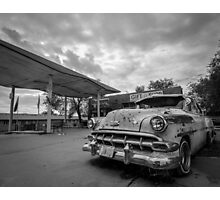 Rusted Car Photographic Print