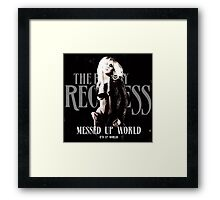 The Pretty Reckless Messed Up World Framed Print