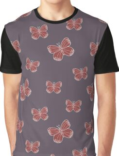 Magic butterfly on dark background Graphic T-Shirt