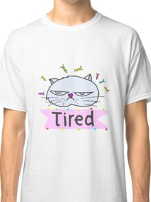 Tired cat Classic T-Shirt