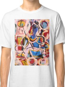 Expressionist abstract painting Classic T-Shirt