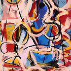 Expressionist abstract painting by signorino