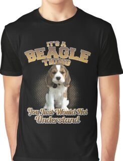 It's A Beagle Thing Graphic T-Shirt
