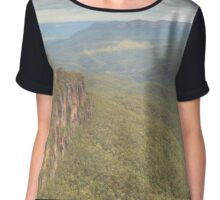 The Three Sisters & Mount Solitary Chiffon Top
