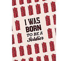 i was born to be a soldier - shinee, taemin, soldier ver. 2 Photographic Print