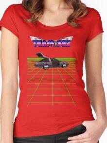 Team Sez Nissan Exa Women's Fitted Scoop T-Shirt