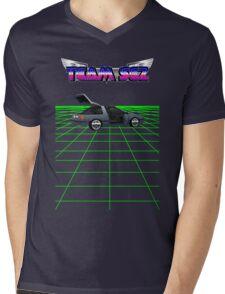 Team Sez Nissan Exa Mens V-Neck T-Shirt