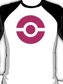 Pokeball Icon Pink T-Shirt