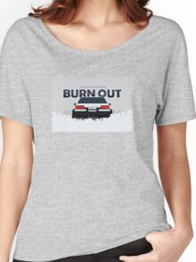 ae86 coupe burnout Women's Relaxed Fit T-Shirt
