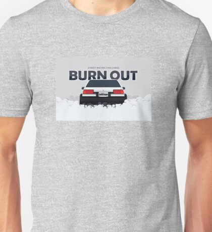 ae86 coupe burnout Unisex T-Shirt