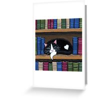 Book Love Greeting Card
