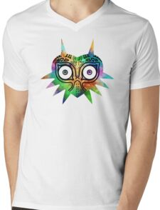 Majora's Mask Color Alt Mens V-Neck T-Shirt